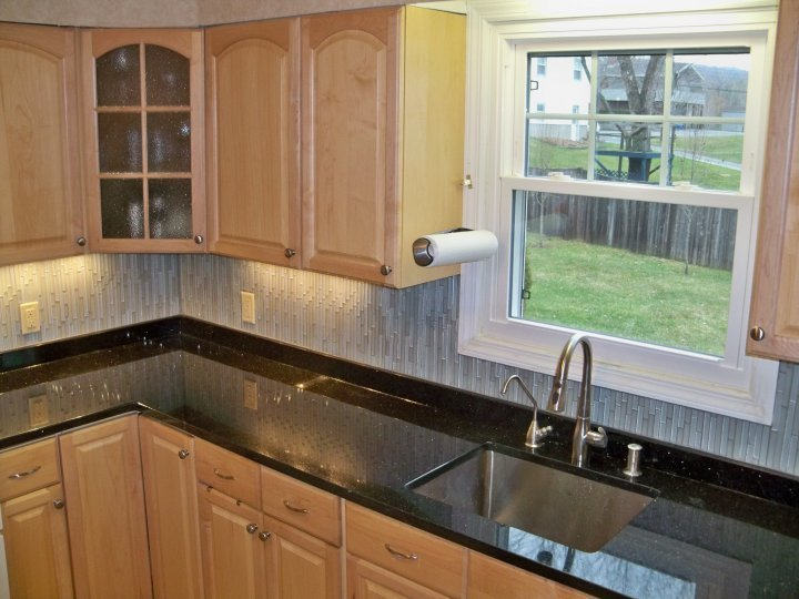 Black Galaxy Granite Countertops