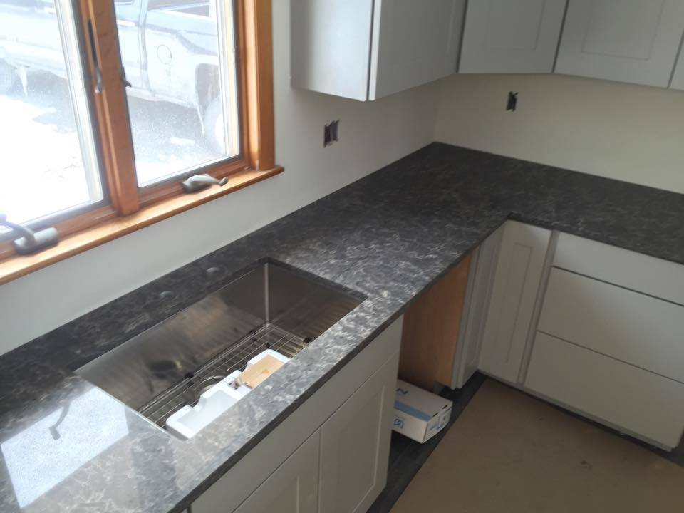 Caesarstone Coastal Gray Quartz Countertops