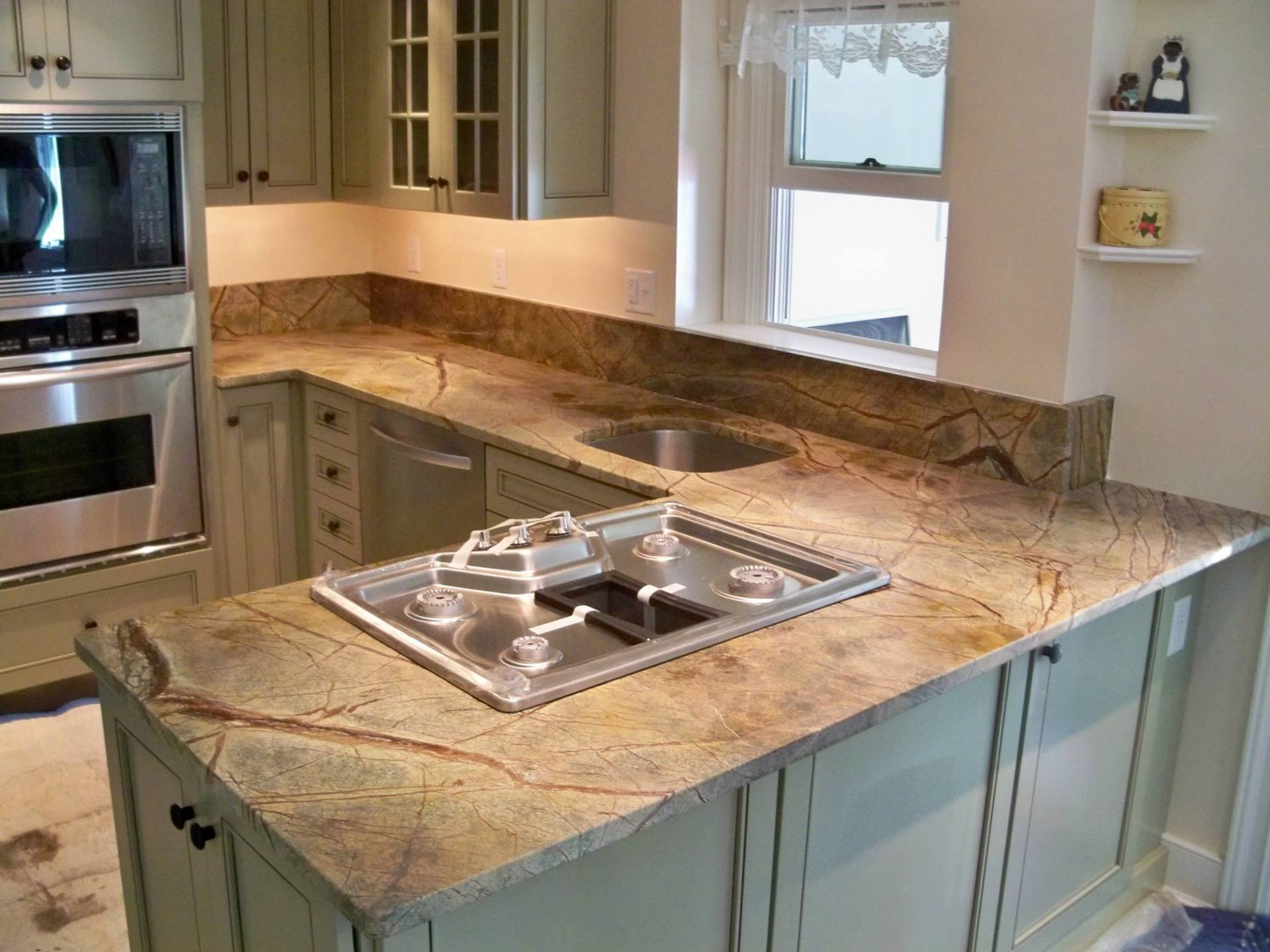 Rainforest Green Stone Countertops