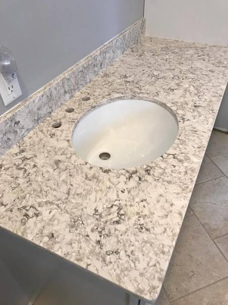 Santiago Quartz Vanity Top