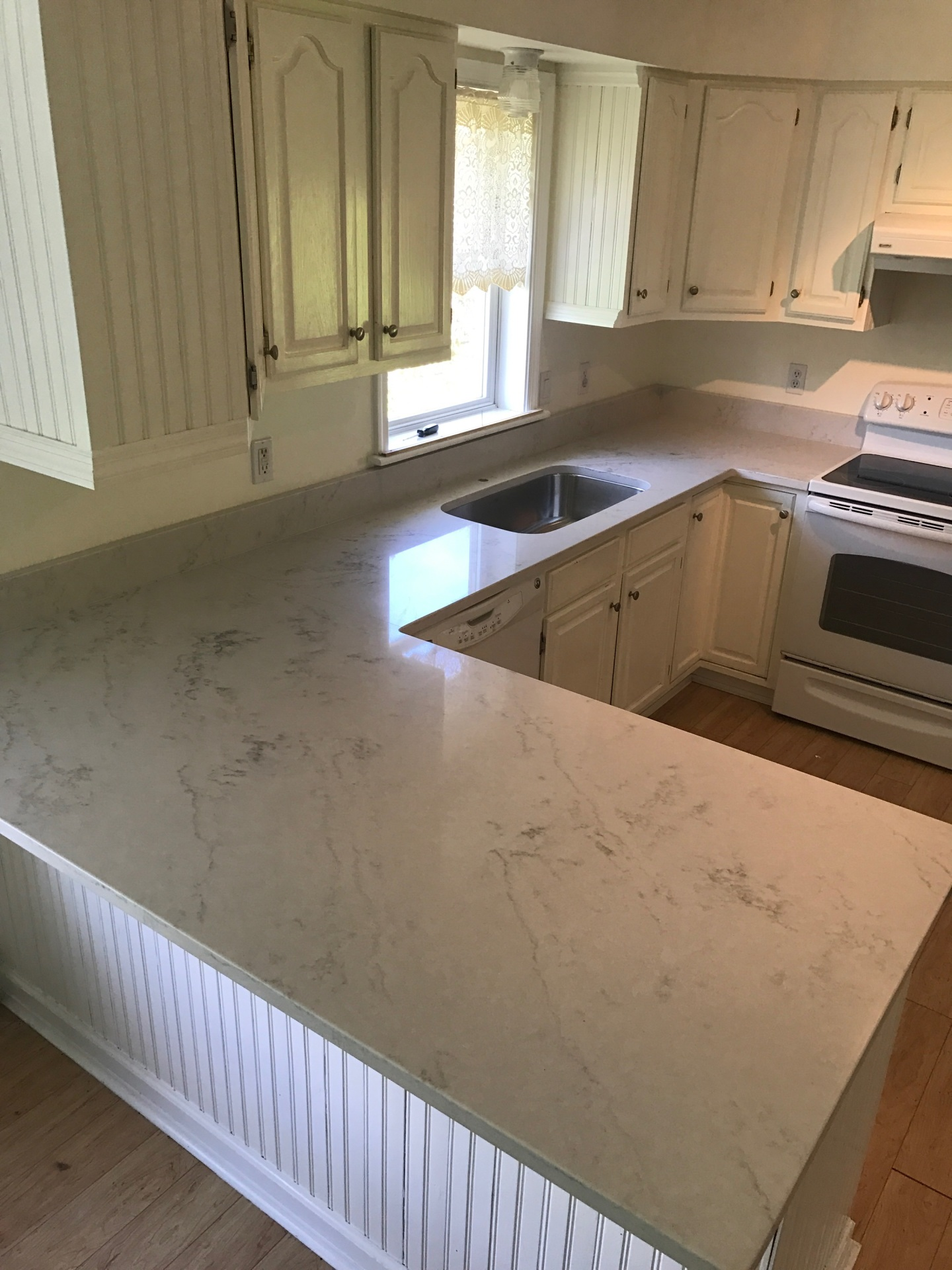Corian Quartz London Sky Countertops